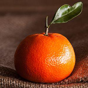 épluchure d'orange
