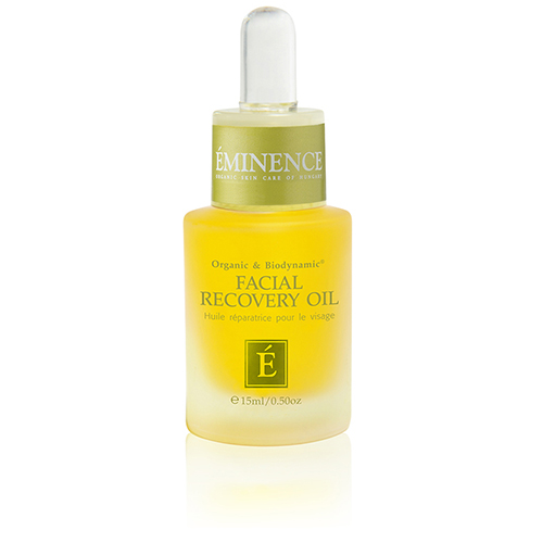 huile de récupération faciale eminence organics