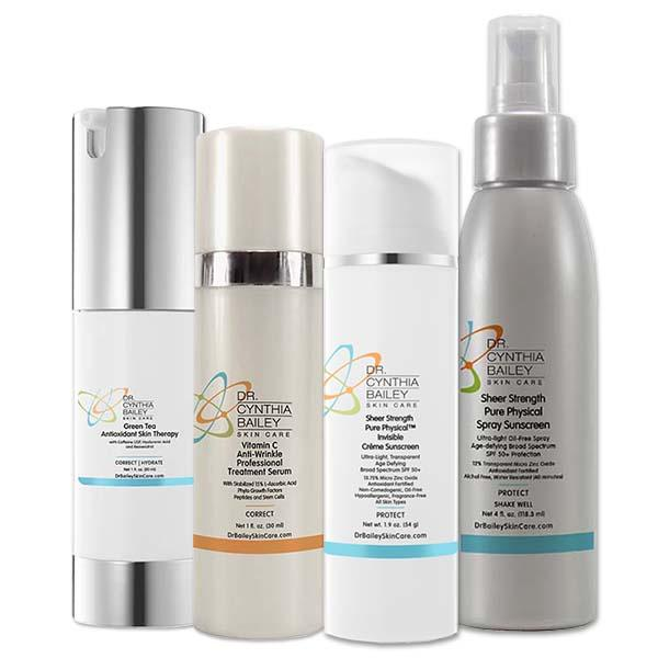 meilleurs antioxydants pour les soins de la peau d'été