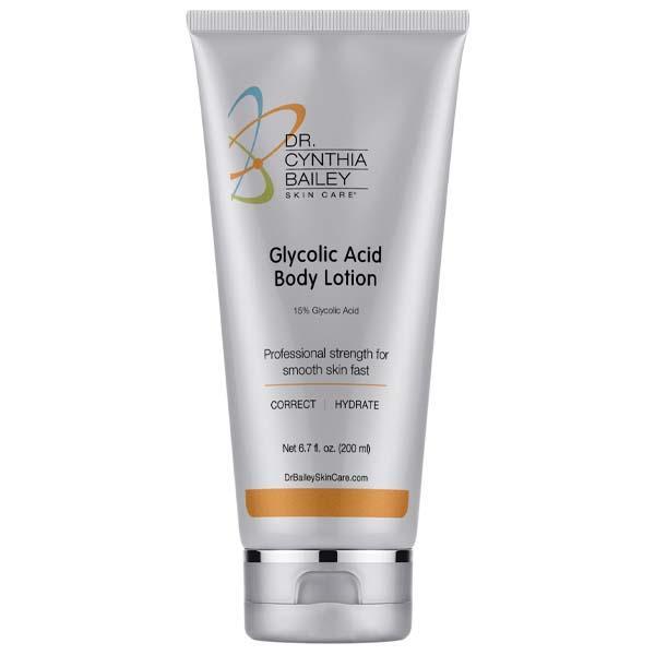 meilleure lotion corporelle à l'acide glycolique pour une peau éclatante