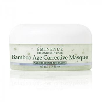 Masque correcteur de l'âge en bambou Eminence Organics