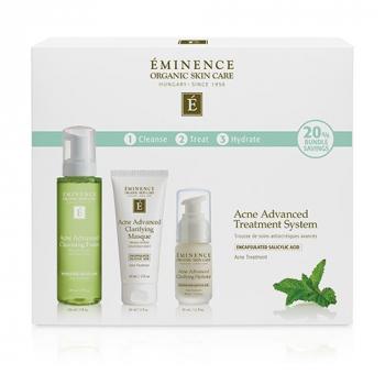 Système de traitement avancé en 3 étapes Eminence Organics Acne