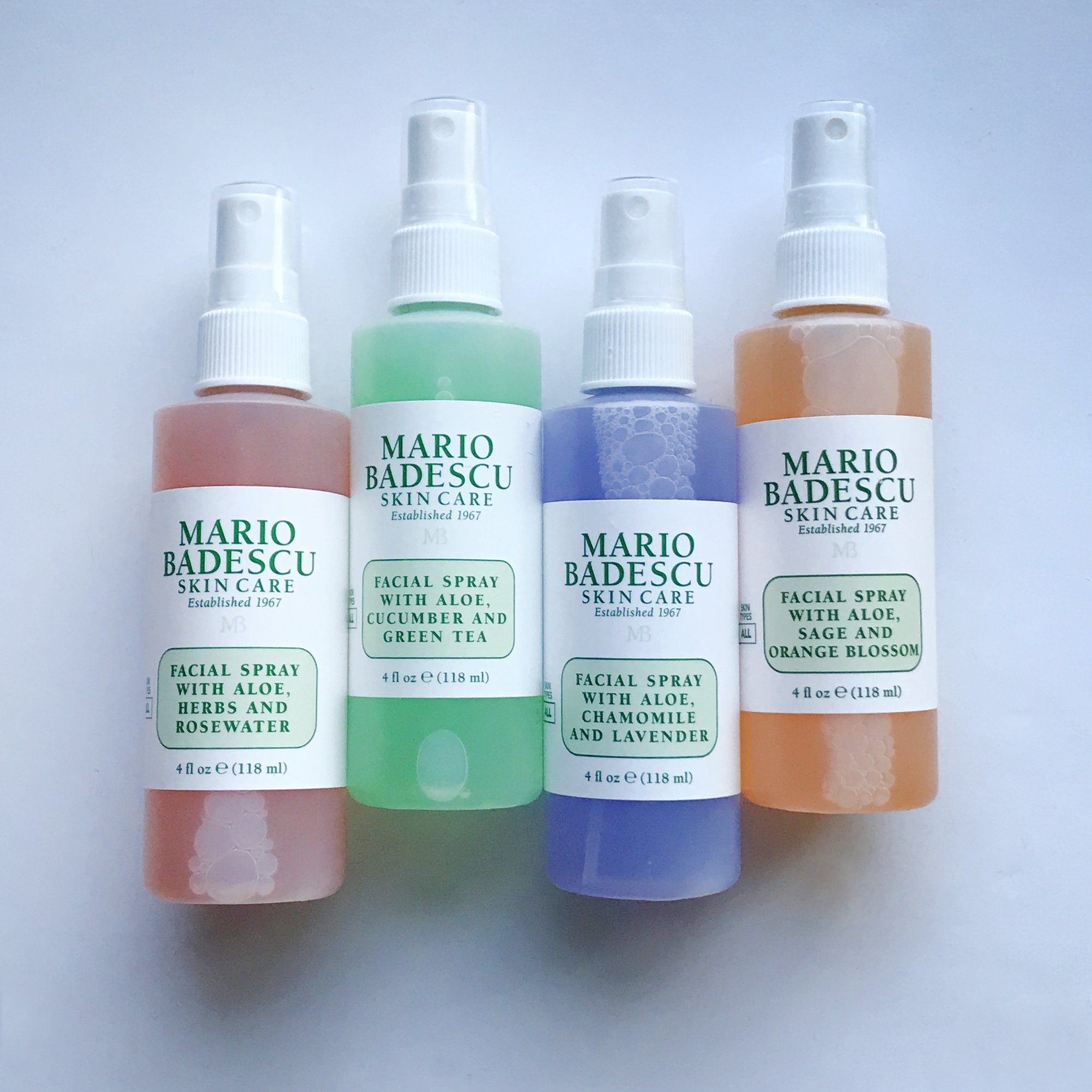 Guide de comparaison du spray facial Mario Badescu