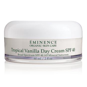 Crème de jour à la vanille tropicale Eminence SPF 40