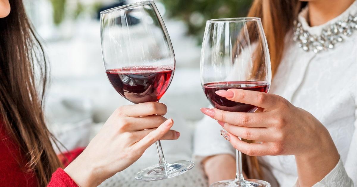 le vin affecte votre peau