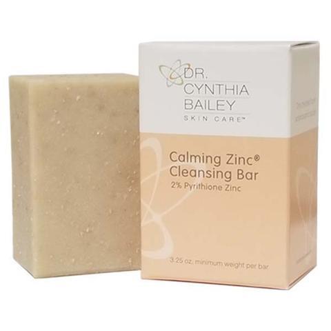 Nettoyant visage apaisant au savon de zinc pour l'acné fongique