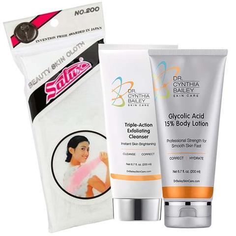 meilleur traitement pour KP et l'acné corporelle