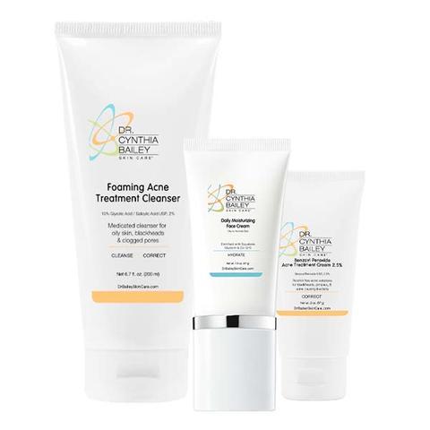 kit de soins de la peau Ultimate Acne Solutions de dermatologue