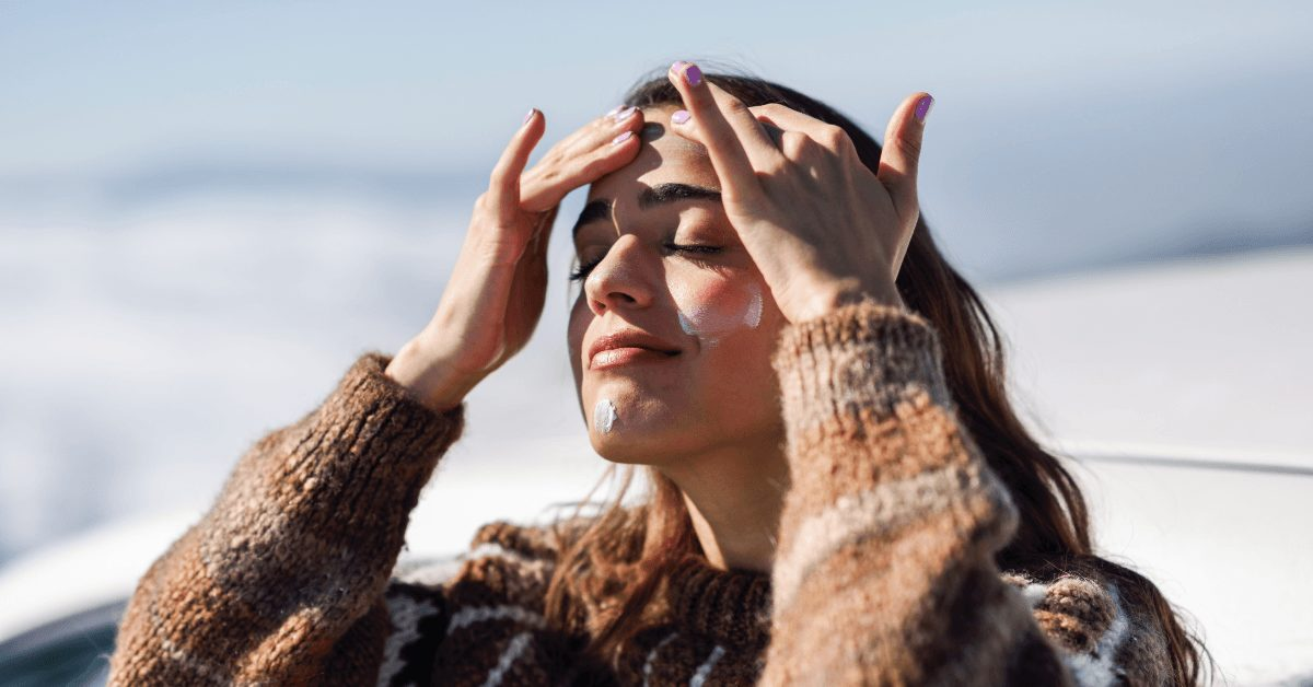 crème solaire de l'été à l'automne