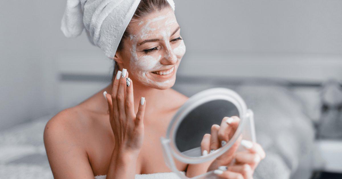 soins de la peau d'automne