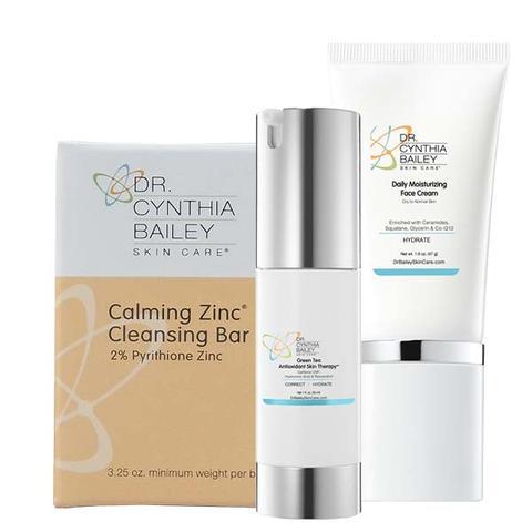 Arrêtez la propagation de la séborrhée faciale avec le kit de solutions pour la desquamation et les rougeurs du visage