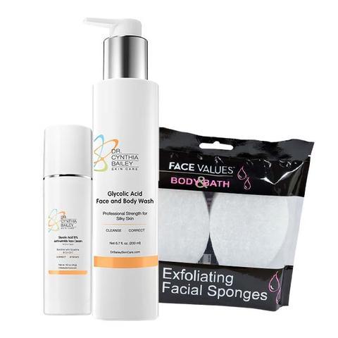 Obtenez une peau éclatante rapidement avec les 2 étapes faciles du dermatologue