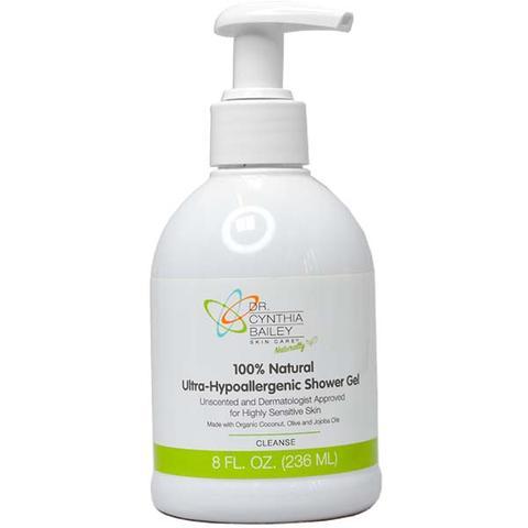 gel douche naturel approuvé par les dermatologues