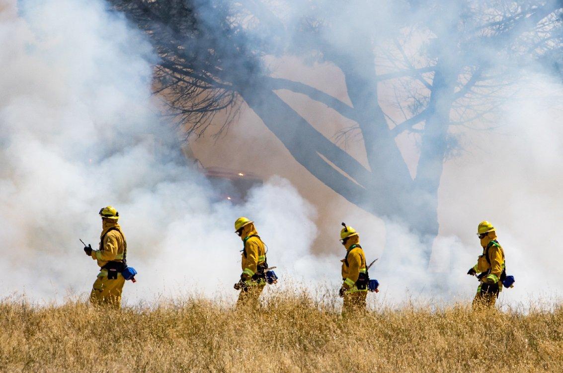 incendies de forêt pollution de la peau dommages cutanés